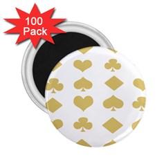 Card Symbols 2.25  Magnets (100 pack)