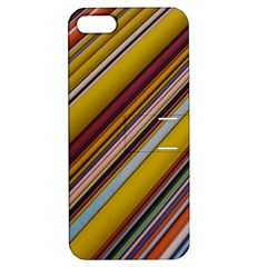 Colourful Lines Apple iPhone 5 Hardshell Case with Stand