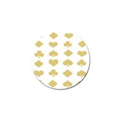Card Symbols Golf Ball Marker (10 pack)
