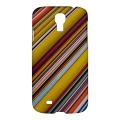 Colourful Lines Samsung Galaxy S4 I9500/I9505 Hardshell Case