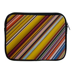 Colourful Lines Apple iPad 2/3/4 Zipper Cases
