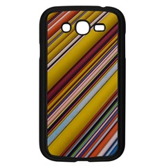 Colourful Lines Samsung Galaxy Grand Duos I9082 Case (black)