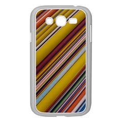Colourful Lines Samsung Galaxy Grand DUOS I9082 Case (White)