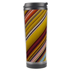 Colourful Lines Travel Tumbler