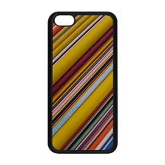 Colourful Lines Apple Iphone 5c Seamless Case (black)