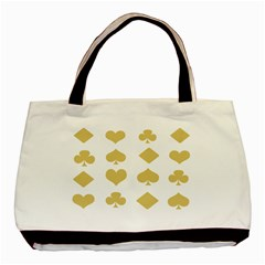 Card Symbols Basic Tote Bag