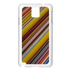 Colourful Lines Samsung Galaxy Note 3 N9005 Case (White)