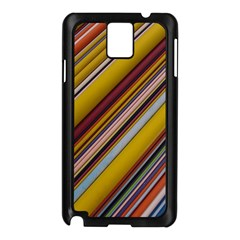 Colourful Lines Samsung Galaxy Note 3 N9005 Case (Black)