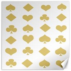 Card Symbols Canvas 12  x 12