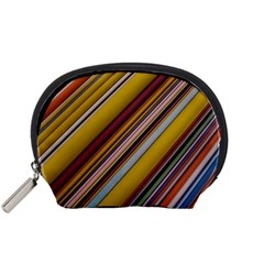 Colourful Lines Accessory Pouches (Small)