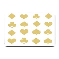 Card Symbols Small Doormat