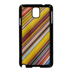 Colourful Lines Samsung Galaxy Note 3 Neo Hardshell Case (black)