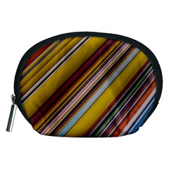 Colourful Lines Accessory Pouches (Medium)