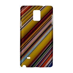 Colourful Lines Samsung Galaxy Note 4 Hardshell Case