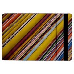 Colourful Lines iPad Air 2 Flip