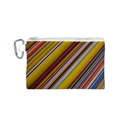 Colourful Lines Canvas Cosmetic Bag (s)