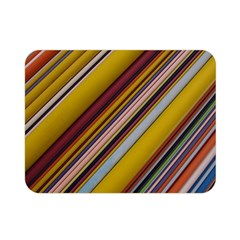 Colourful Lines Double Sided Flano Blanket (mini)