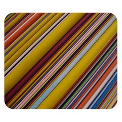 Colourful Lines Double Sided Flano Blanket (Small)