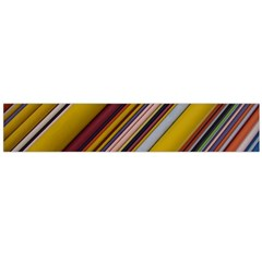 Colourful Lines Flano Scarf (large)