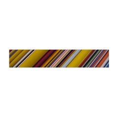 Colourful Lines Flano Scarf (Mini)