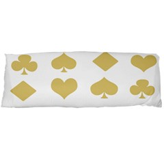 Card Symbols Body Pillow Case (Dakimakura)