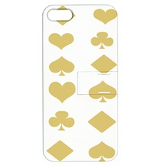 Card Symbols Apple iPhone 5 Hardshell Case with Stand