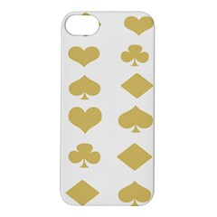 Card Symbols Apple iPhone 5S/ SE Hardshell Case