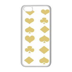 Card Symbols Apple iPhone 5C Seamless Case (White)