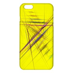 Fractal Color Parallel Lines On Gold Background Iphone 6 Plus/6s Plus Tpu Case