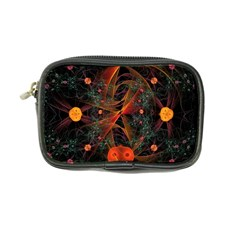 Fractal Wallpaper With Dancing Planets On Black Background Coin Purse