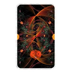 Fractal Wallpaper With Dancing Planets On Black Background Memory Card Reader