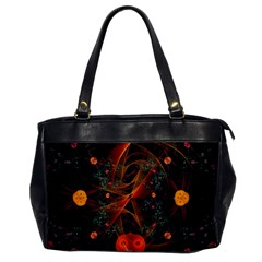 Fractal Wallpaper With Dancing Planets On Black Background Office Handbags