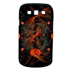Fractal Wallpaper With Dancing Planets On Black Background Samsung Galaxy S Iii Classic Hardshell Case (pc+silicone)