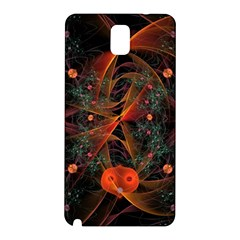 Fractal Wallpaper With Dancing Planets On Black Background Samsung Galaxy Note 3 N9005 Hardshell Back Case