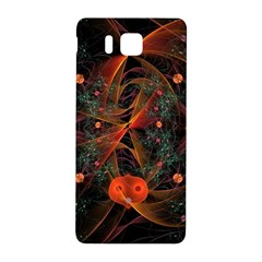 Fractal Wallpaper With Dancing Planets On Black Background Samsung Galaxy Alpha Hardshell Back Case