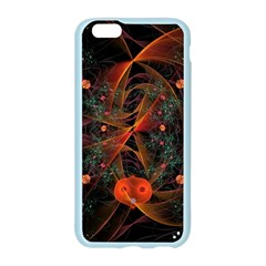 Fractal Wallpaper With Dancing Planets On Black Background Apple Seamless iPhone 6/6S Case (Color)