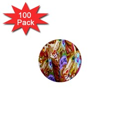 3 Carousel Ride Horses 1  Mini Magnets (100 Pack)