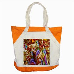 3 Carousel Ride Horses Accent Tote Bag