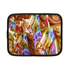 3 Carousel Ride Horses Netbook Case (small)