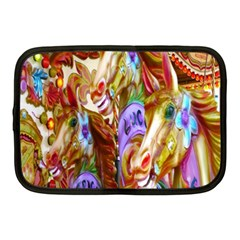 3 Carousel Ride Horses Netbook Case (Medium)