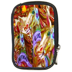 3 Carousel Ride Horses Compact Camera Cases