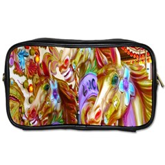3 Carousel Ride Horses Toiletries Bags 2-Side
