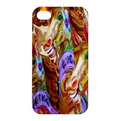 3 Carousel Ride Horses Apple Iphone 4/4s Hardshell Case