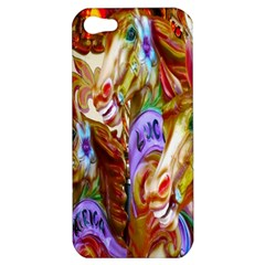 3 Carousel Ride Horses Apple Iphone 5 Hardshell Case
