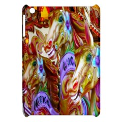 3 Carousel Ride Horses Apple iPad Mini Hardshell Case
