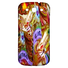 3 Carousel Ride Horses Samsung Galaxy S3 S III Classic Hardshell Back Case