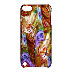 3 Carousel Ride Horses Apple Ipod Touch 5 Hardshell Case With Stand