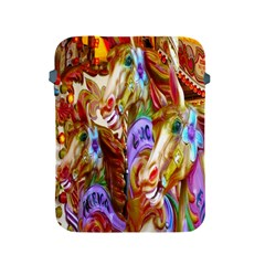 3 Carousel Ride Horses Apple iPad 2/3/4 Protective Soft Cases