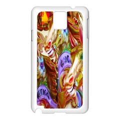 3 Carousel Ride Horses Samsung Galaxy Note 3 N9005 Case (white)