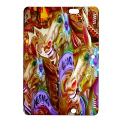 3 Carousel Ride Horses Kindle Fire Hdx 8 9  Hardshell Case